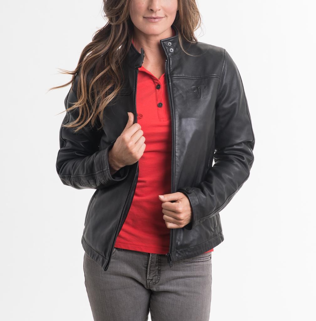 Tesla-women-leather-jacket