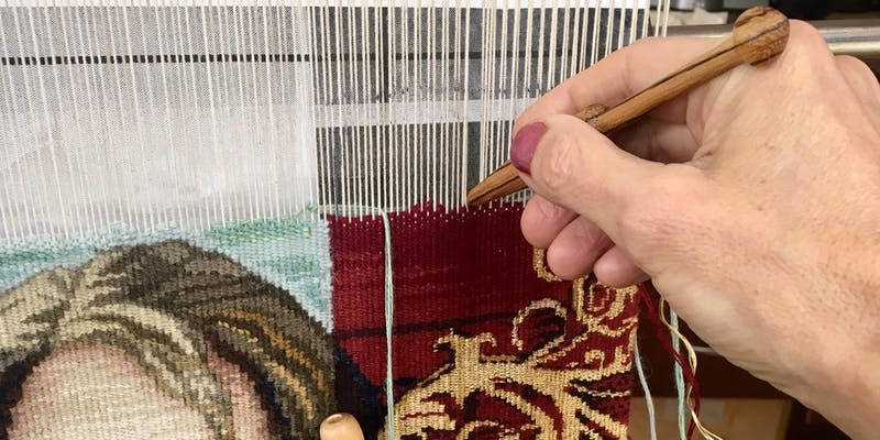 Tapestry-weaving