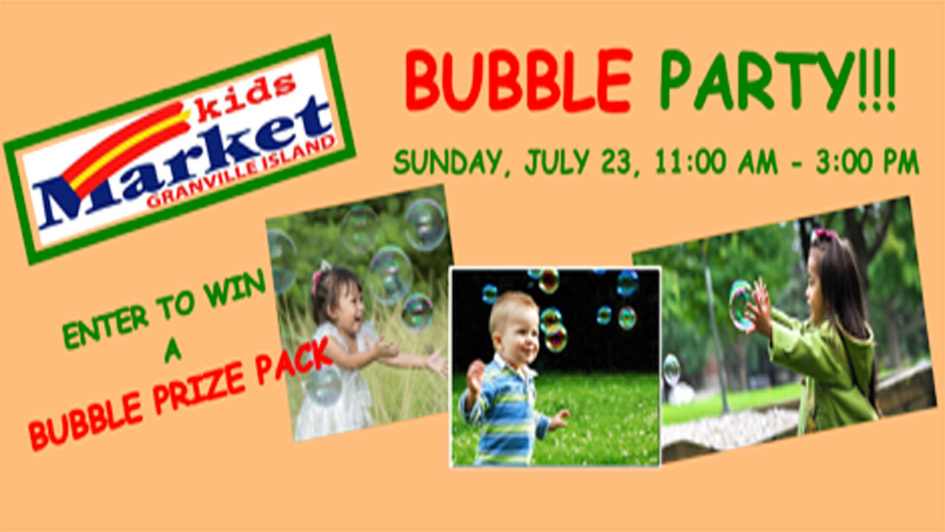 Kids-market-bubble-party