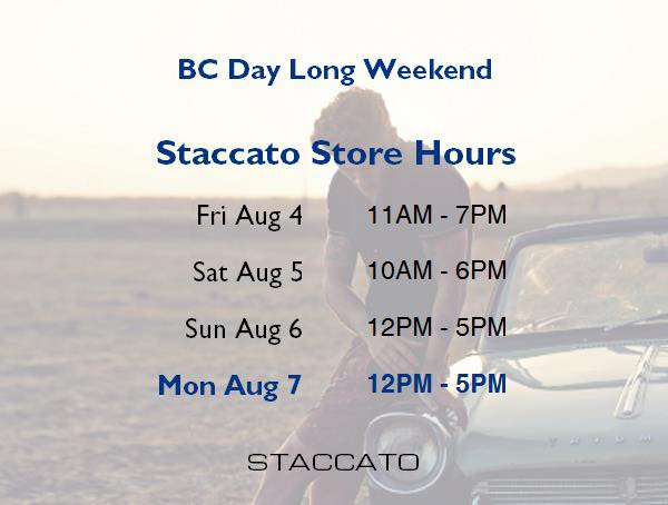 Staccato-bc-day-long-weekend-hours