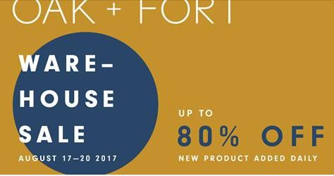 Oak-fort-warehouse-sale
