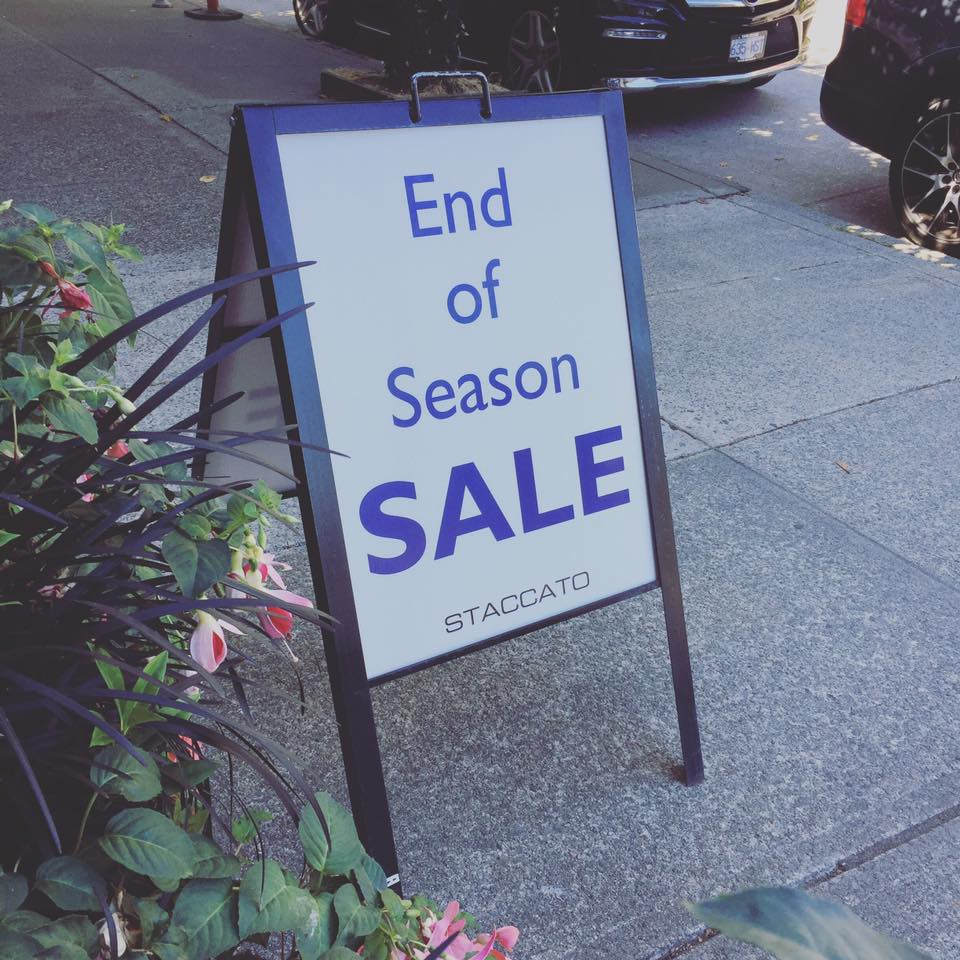 Staccato-end-of-season-sale