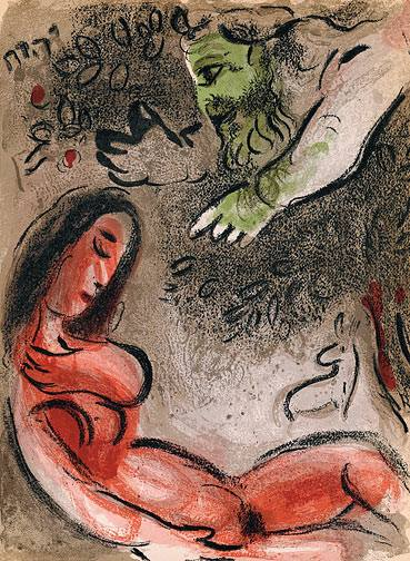 Chali-rosso-marc-chagall-eve-incurs-gods-displeasure