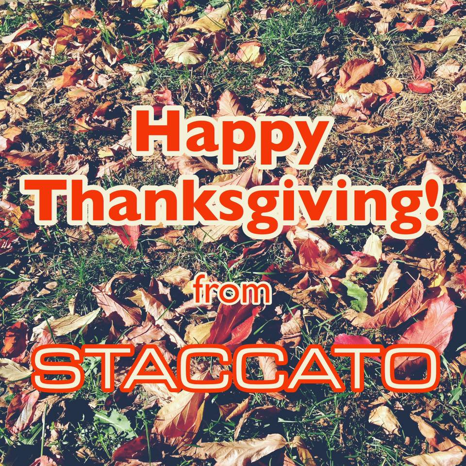 Staccato-happy-thanksgiving