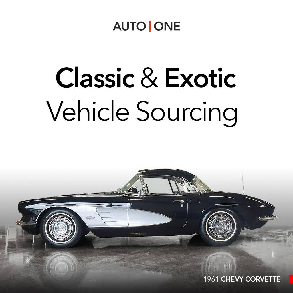 Auto-one-exotic-classic-sourcing