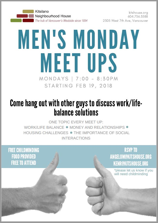 Kits-house-mens-monday-meetups