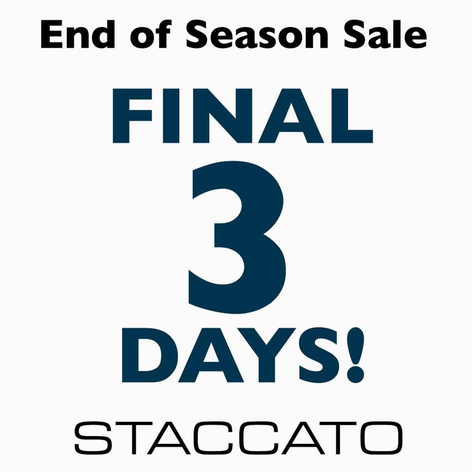 Staccato-final-3-days-sale