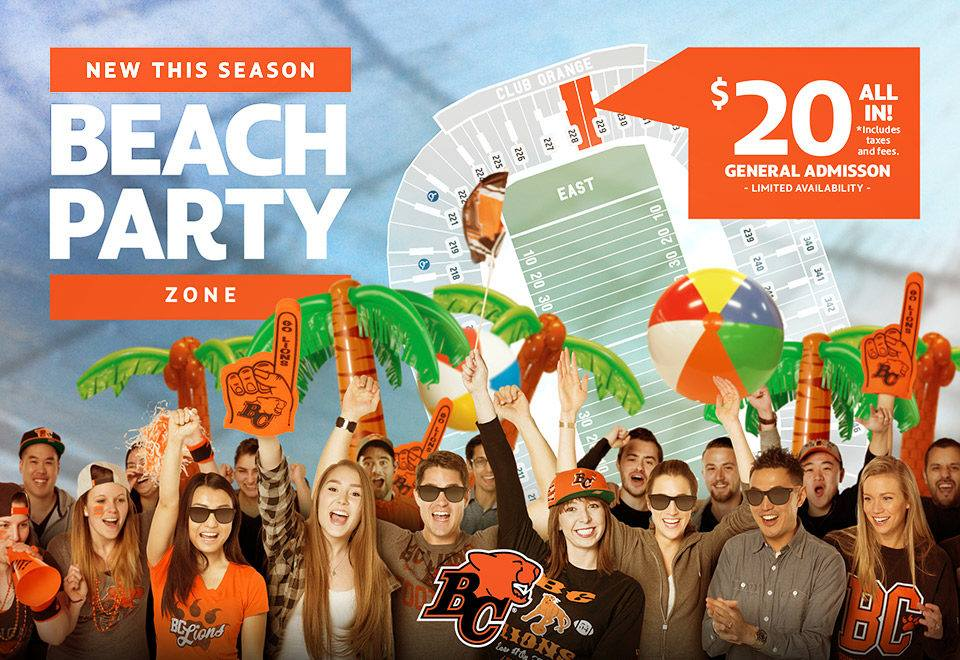 Bc-lions-beach-party