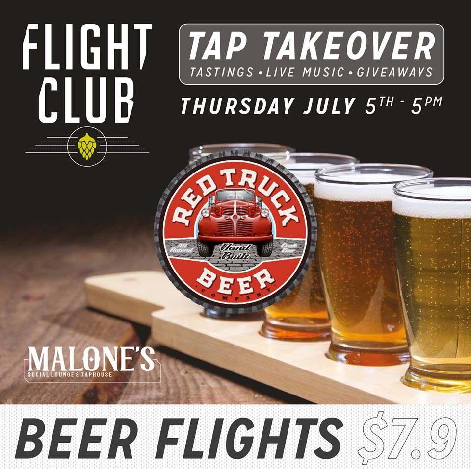 Red-truck-beer-malones-flight-club