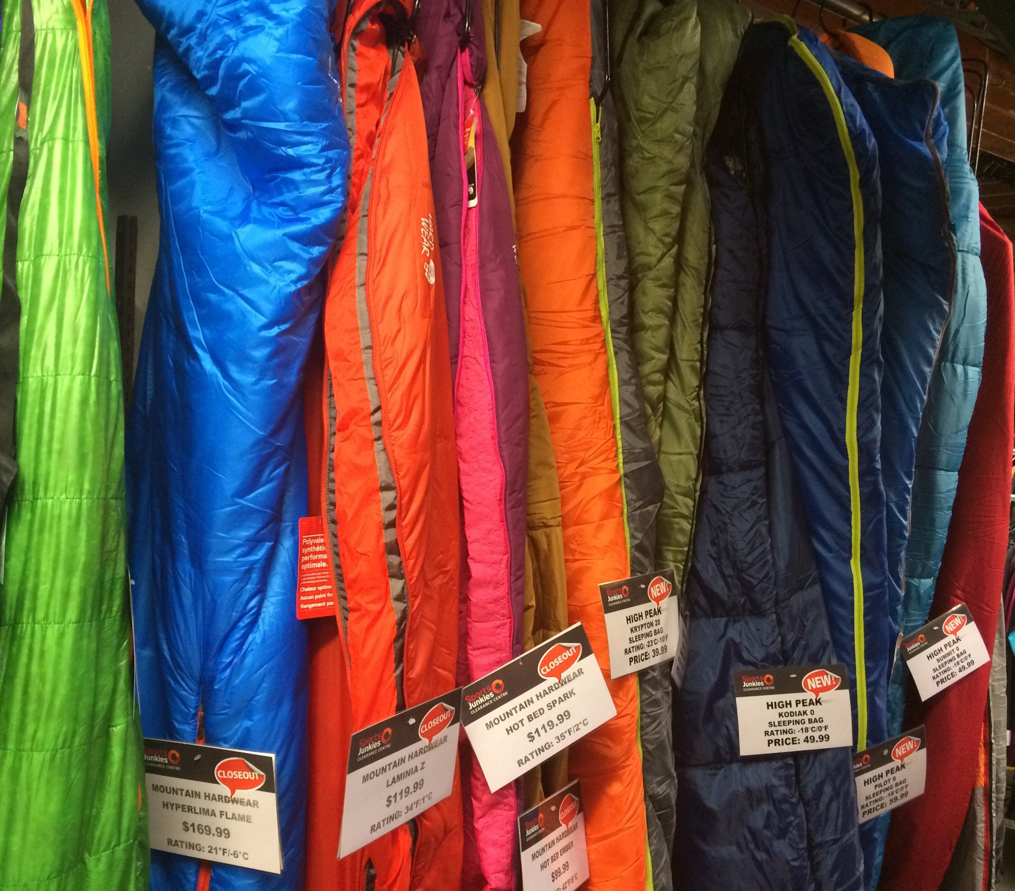 Sports-junkies-sleeping-bags