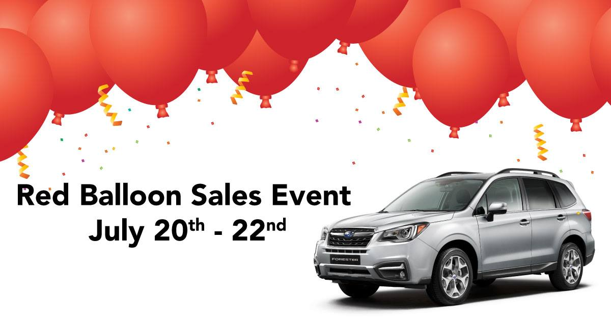 Docksteader-subaru-red-balloon-sales-event