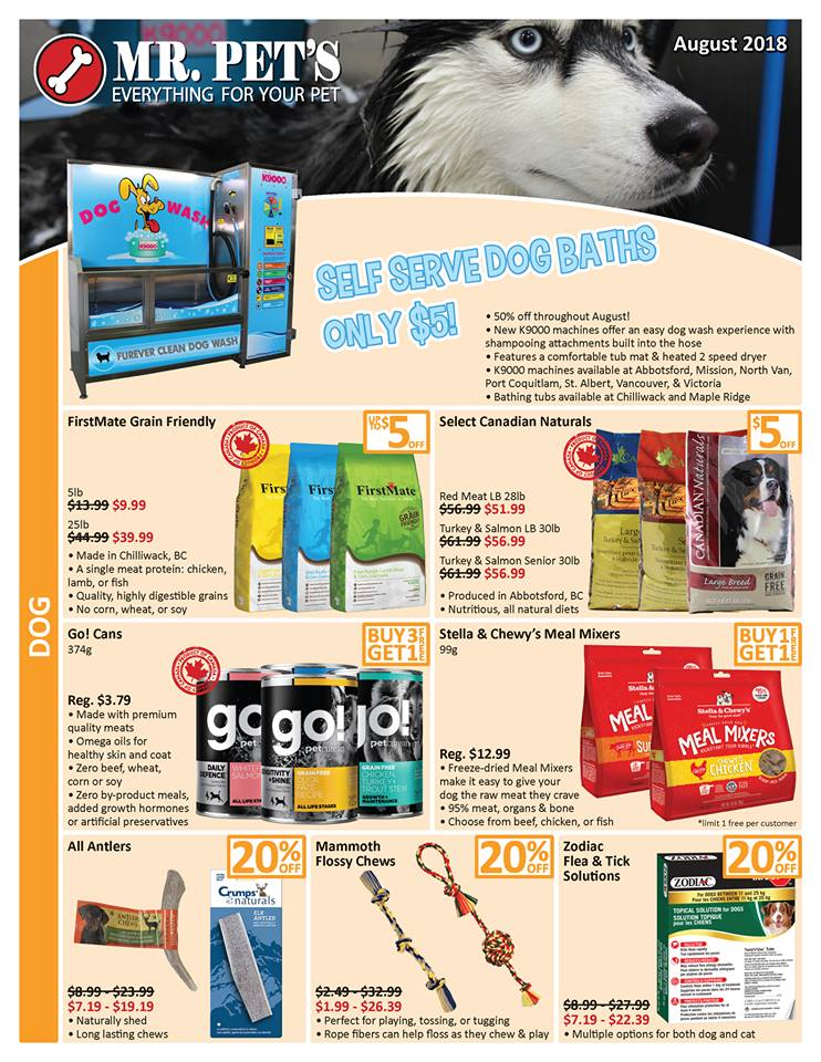 Specialty in vancouver mr pets august flyer solutioingenieria Images
