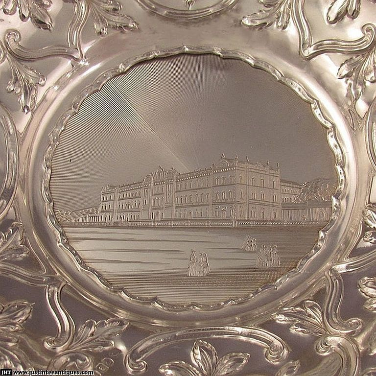 Jh-tee-antiques-silver-buckingham-palace