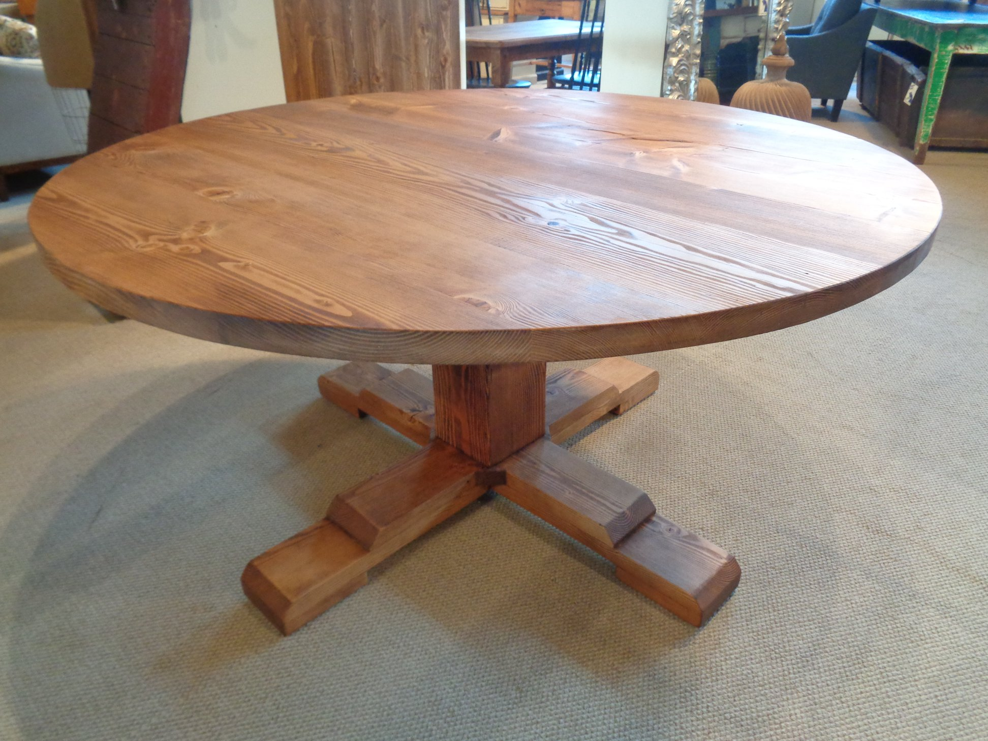 Farmhouse-fir-table