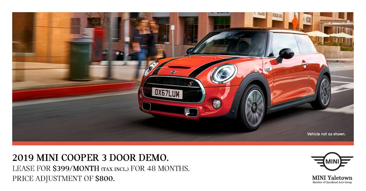 Mini-cooper-3-door-demo