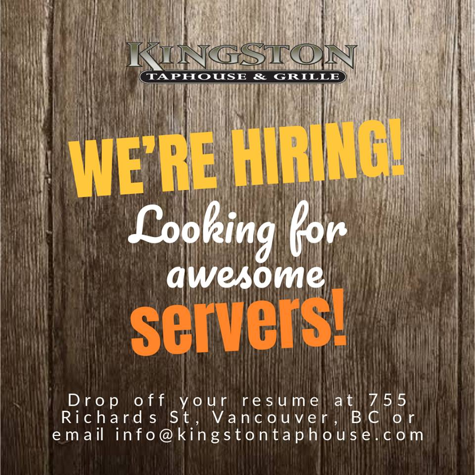 Kingston-hiring