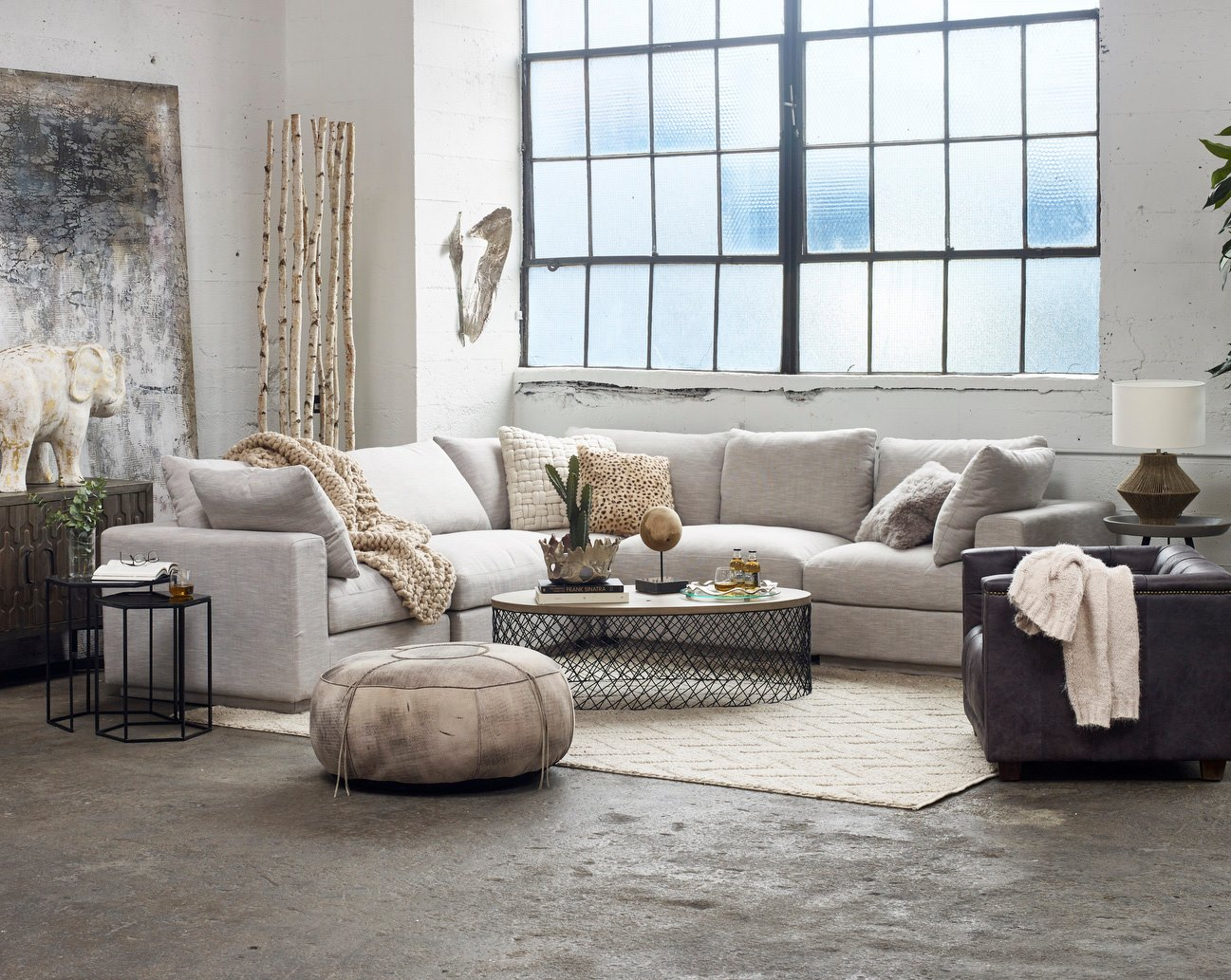 Moes-sectional-sofa-sale