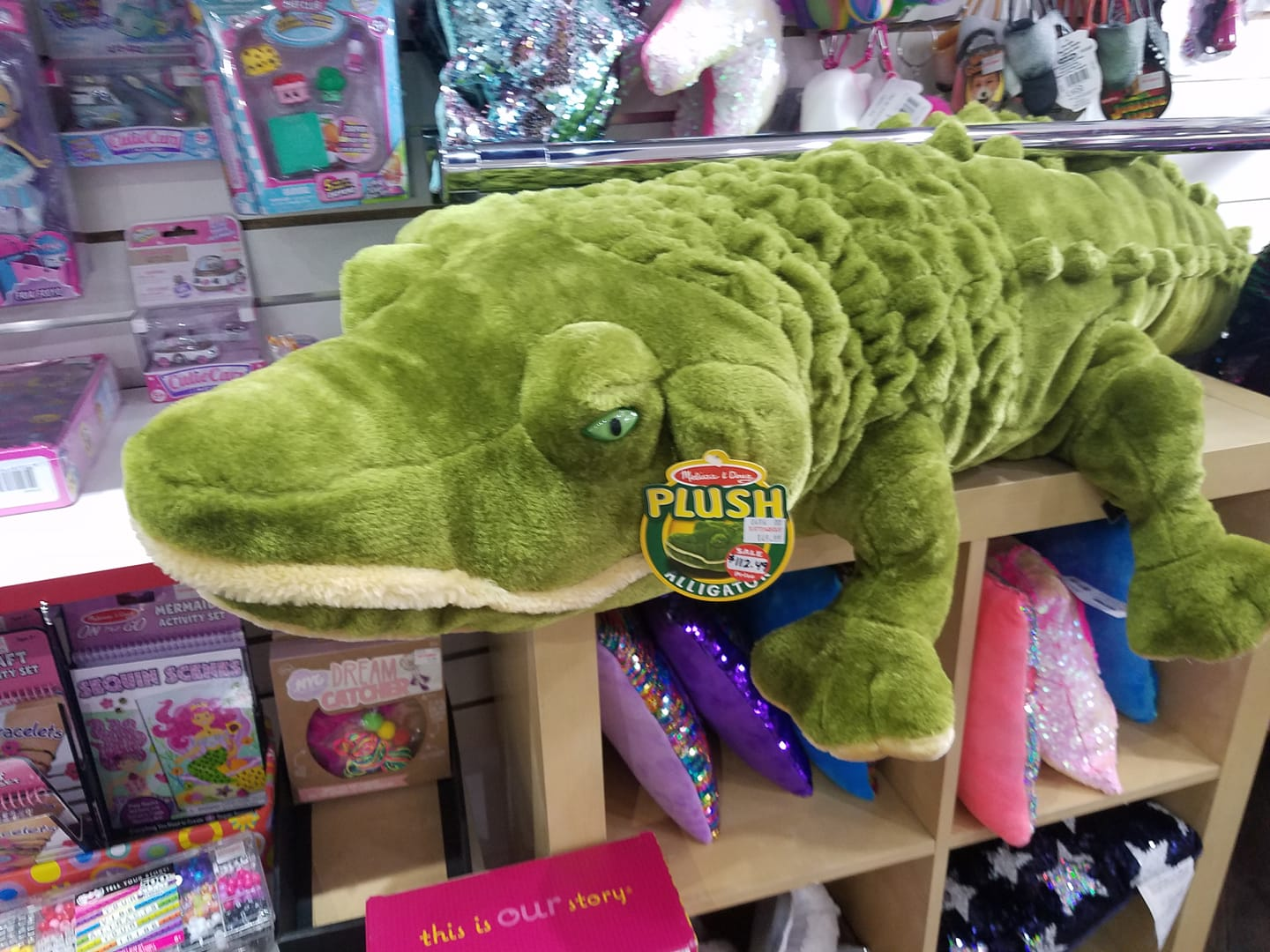 Gi-toy-co-alligator