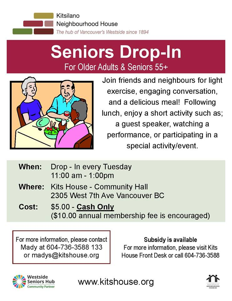 Seniors-drop-in