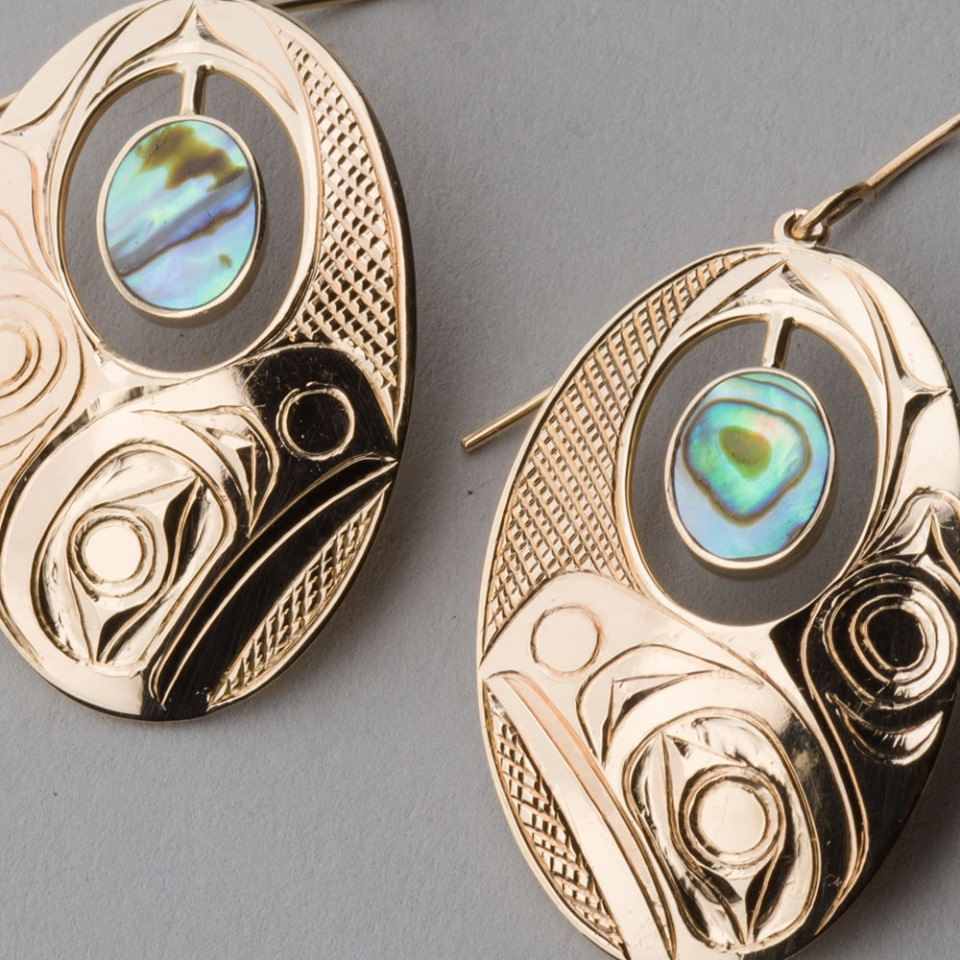 Haida-earrings