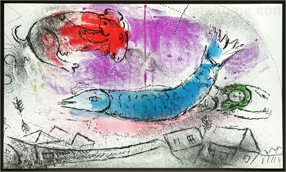 Chagall-blue-fish