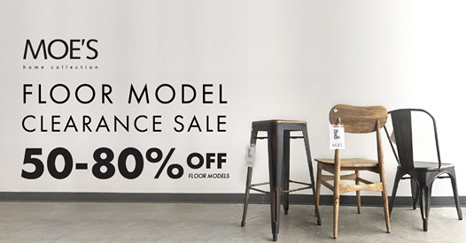 Moes-floor-model-clearance
