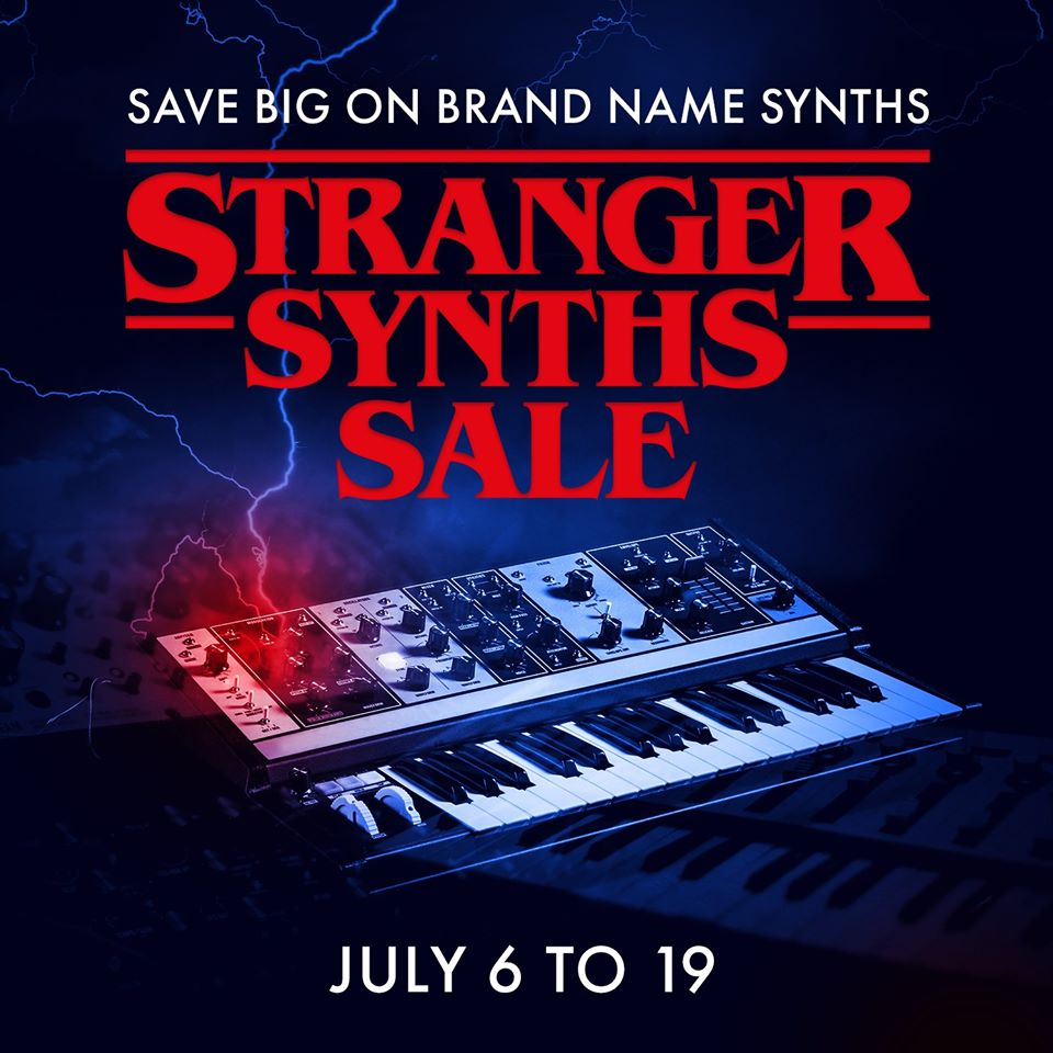 Stranger-synths-sale